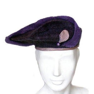 Purple Exclamation Mark Beret