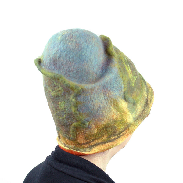 Oak Tree Inspired Landscape Hat - back view