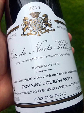 Cote De Nuits Villages Joseph Roty FRANCE BURGUNDY [2014]