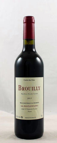 Brouilly Cuvee Des Fous Jean claude Lapalu FRANCE BURGUNDY [2016]