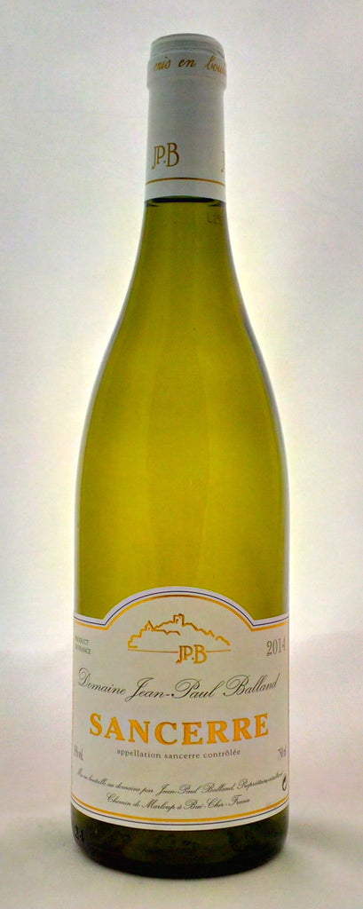 Jean-Paul Balland - Sancerre 2014/15 - Van Steenderen Wines