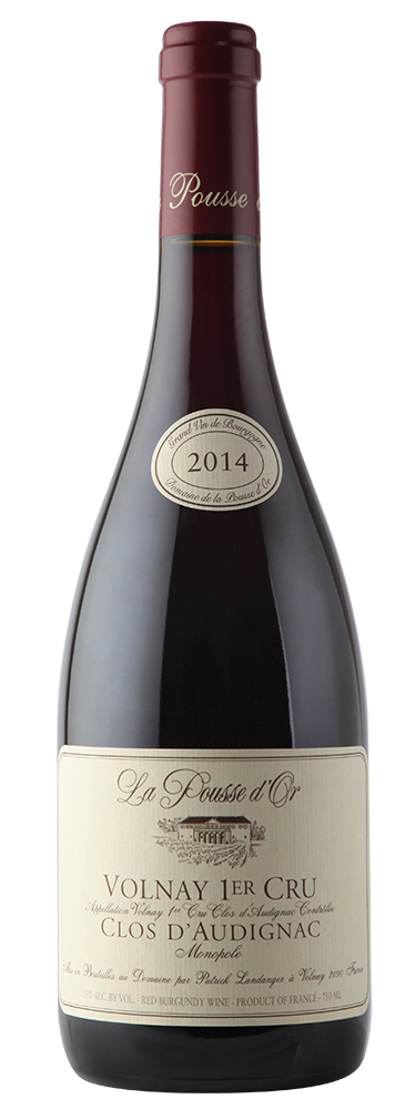 Volnay 1er Cru Clos D'Audignac La Pousse D'Or FRANCE BURGUNDY [2015]