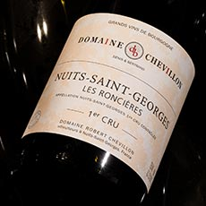 Nuits Saint Georges 1er Cru Roncieres Robert Chevillon FRANCE BURGUNDY [2014]