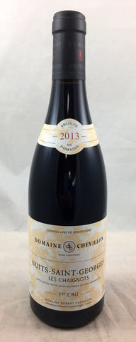 Nuits Saint Georges 1er Cru Chaignots Robert Chevillon FRANCE BURGUNDY [2013]