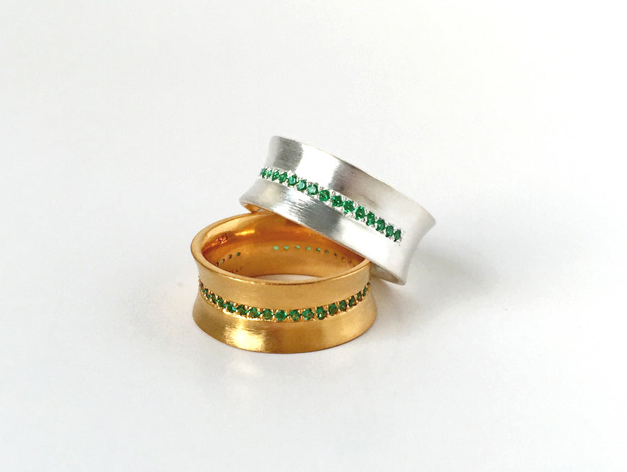 Aura ring - Mitos Jewellery