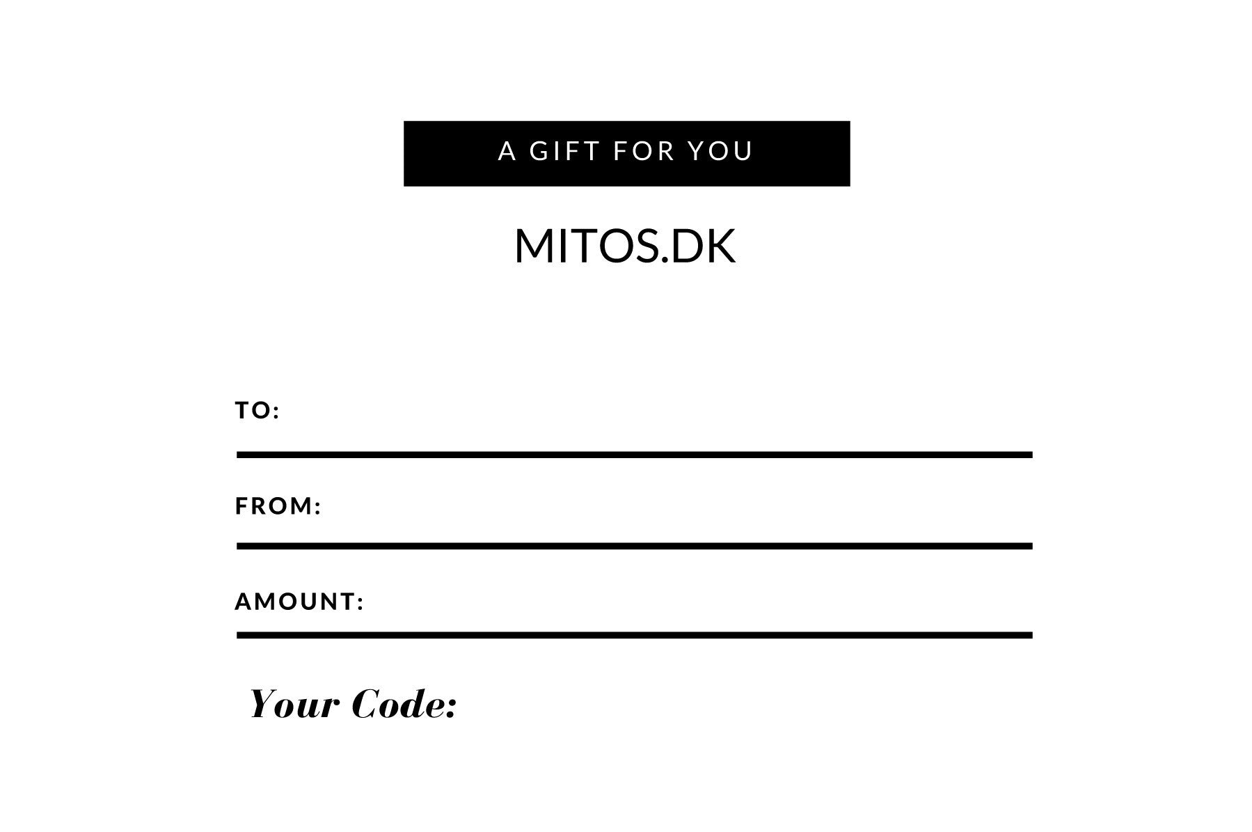 81a4cd0ab986 Gift Card – Mitos Jewellery