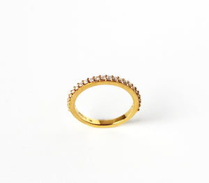 Love Band in Gold - Mitos Jewellery
