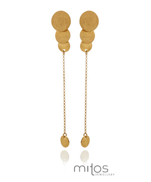 Inca earrings - Mitos Jewellery