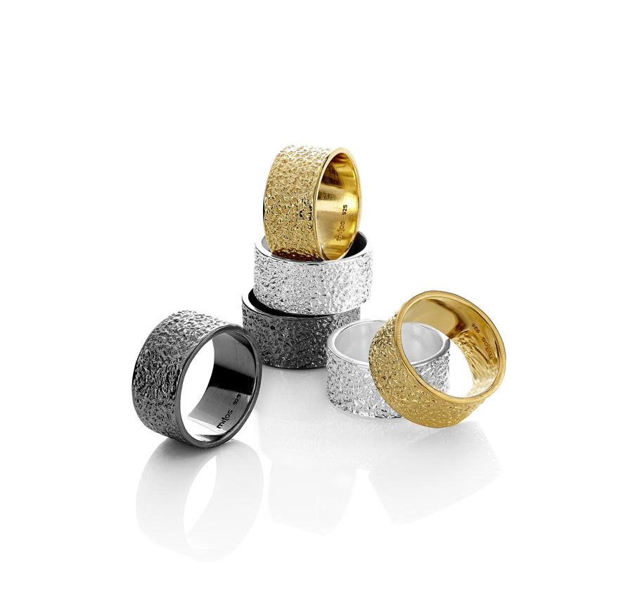 Cylinder Ring - Mitos Jewellery