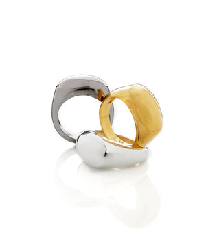 Inti oval Ring - Mitos Jewellery