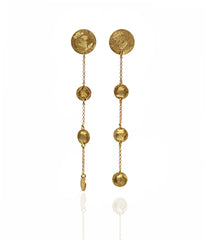 Long Coins earrings