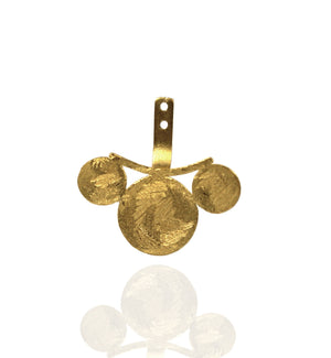 Coin earrings Accessories - Mitos Jewellery