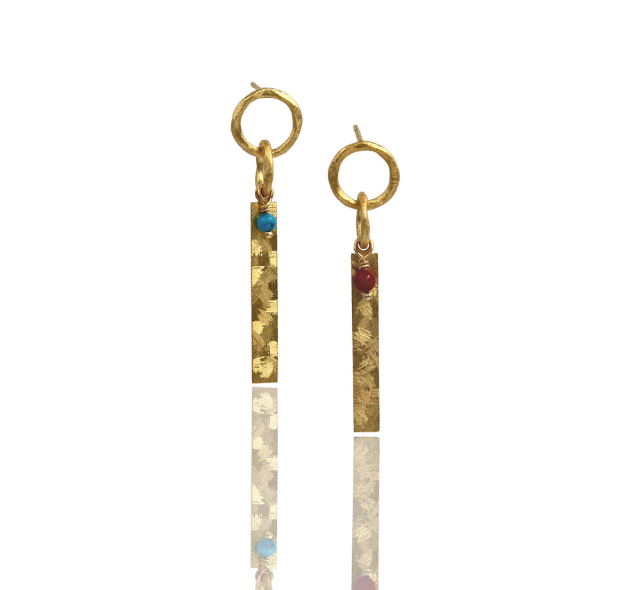 Small Halo Earring - Mitos Jewellery