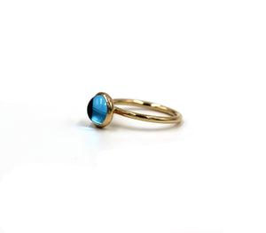 Gold Carioca ring - Mitos Jewellery