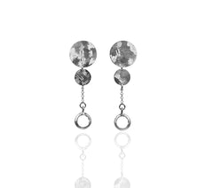 Maya Rock crystal earrings