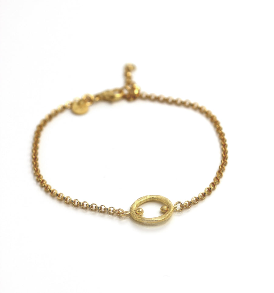 Solar circle bracelet - Mitos Jewellery