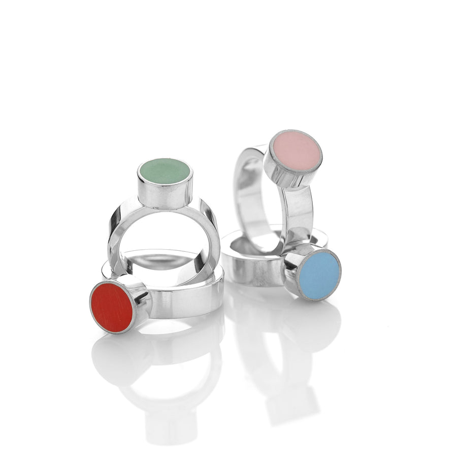 Small Polka ring - Mitos Jewellery