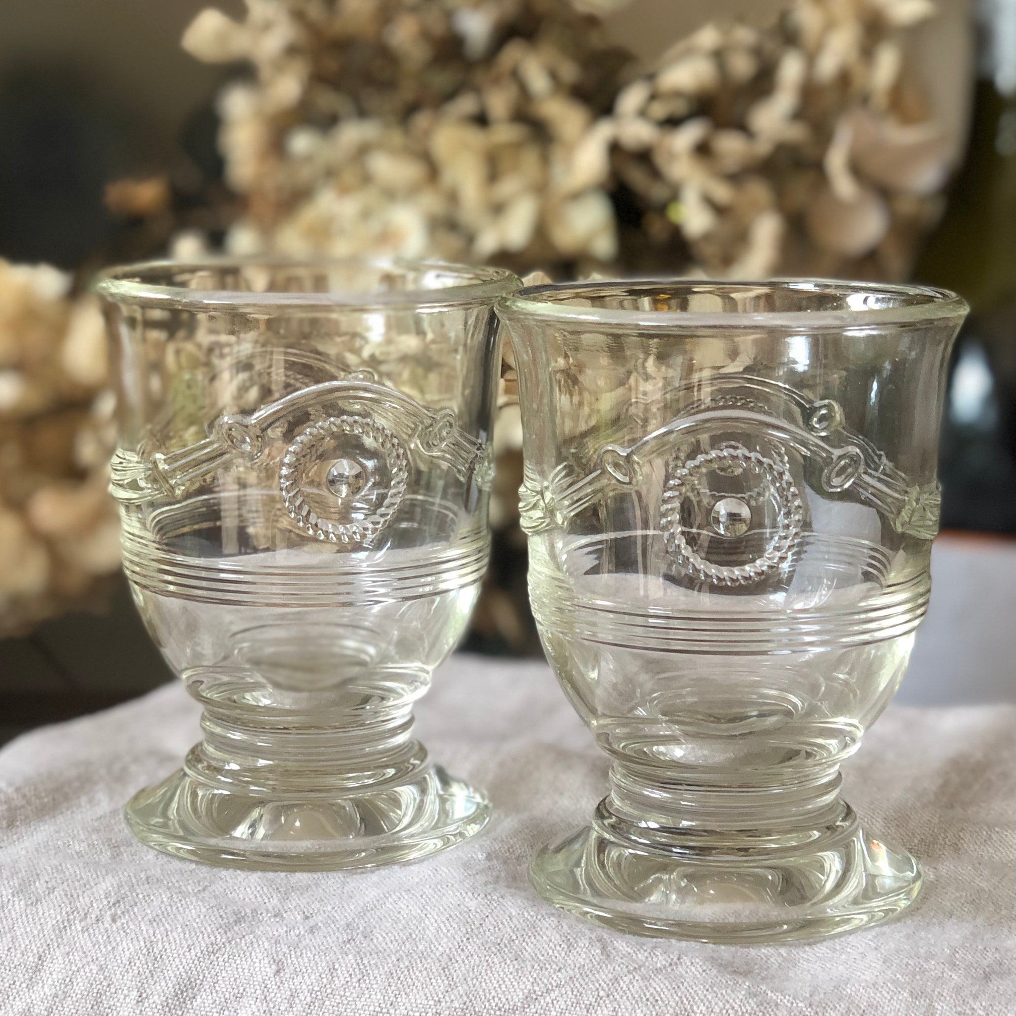 French Anduze Glasses set of 6
