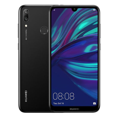 Huawei Y7 Prime (2019) - 6.26-inch 32GB Mobile Phone - Midnight Black