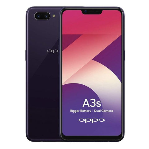 Oppo A3s - 6.2-inch 32GB Dual SIM Mobile Phone