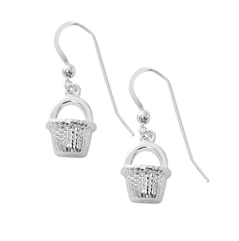 Nantucket Basket Drop Earrings BK1002