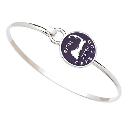 Cape Cod Longitude and Lattitude Bracelet