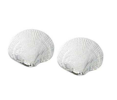 Quahog Stud Earrings E109