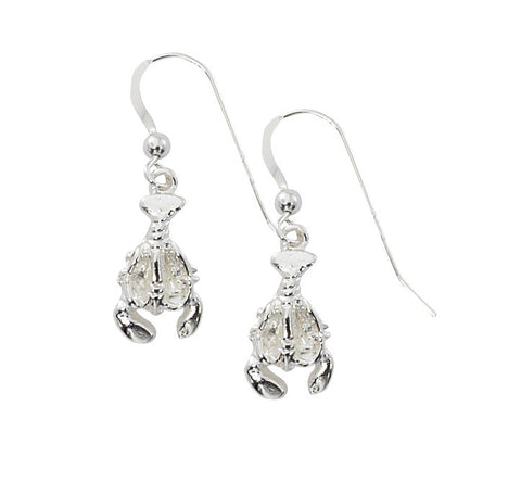 Small Lobster Drop Earrings E214