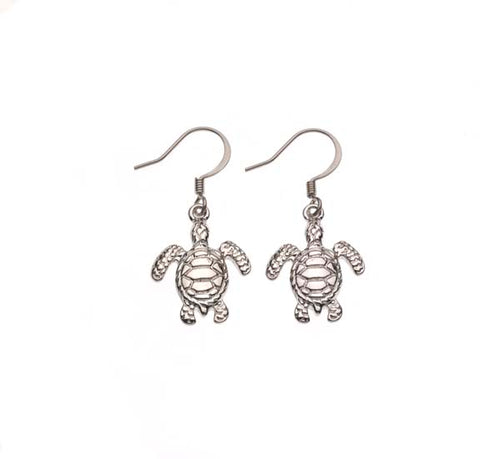 Sea Turtle Drop Earring
