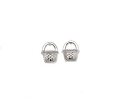 Nantucket Basket Stud Earring