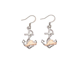 Martha's Vineyard Anchor Rose Gold/Silver Two Tone