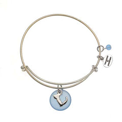 Expandable Bangle Charm Bracelets