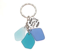 Sea Glass Beach /Relax /Breeze /Sand /Ocean  Key Chains