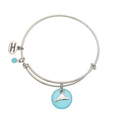 Martha's Vineyard Sea Glass Expandable Bracelet