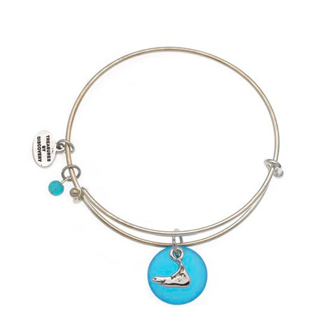 Nantucket Sea Glass Expandable Bracelet