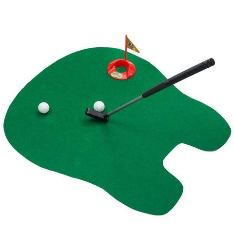 POTTY PUTTER TOILET GOLF GAG GIFT