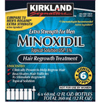 NEW Kirkland 6SCGzy1 Minoxidil 5% Extra Strength Hair Loss Treatment Regrowth