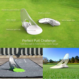 Golf Putting Pressure Putt Trainer - Perfect Your Golf Putting