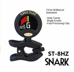 BLACK SN-5X CHROMATIC HEADSTOCK TUNER FOR GUITAR, BASS, UKE, BANJO & MORE!