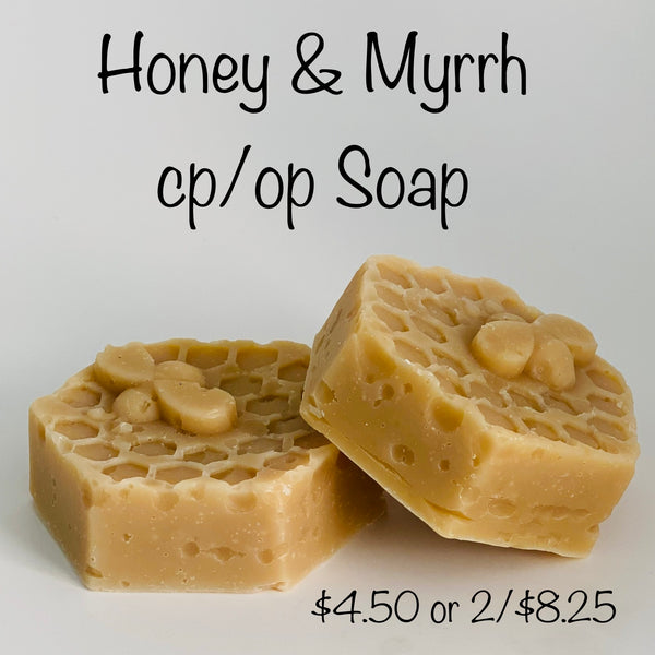 Honey & Myrrh Soap