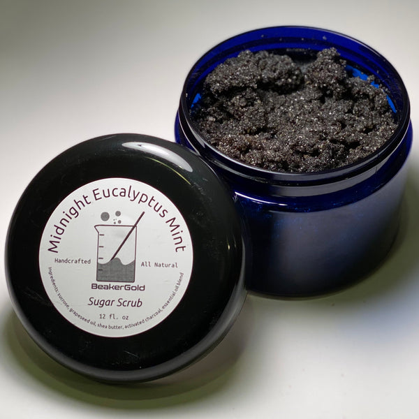 Midnight Eucalyptus Sugar Scrub