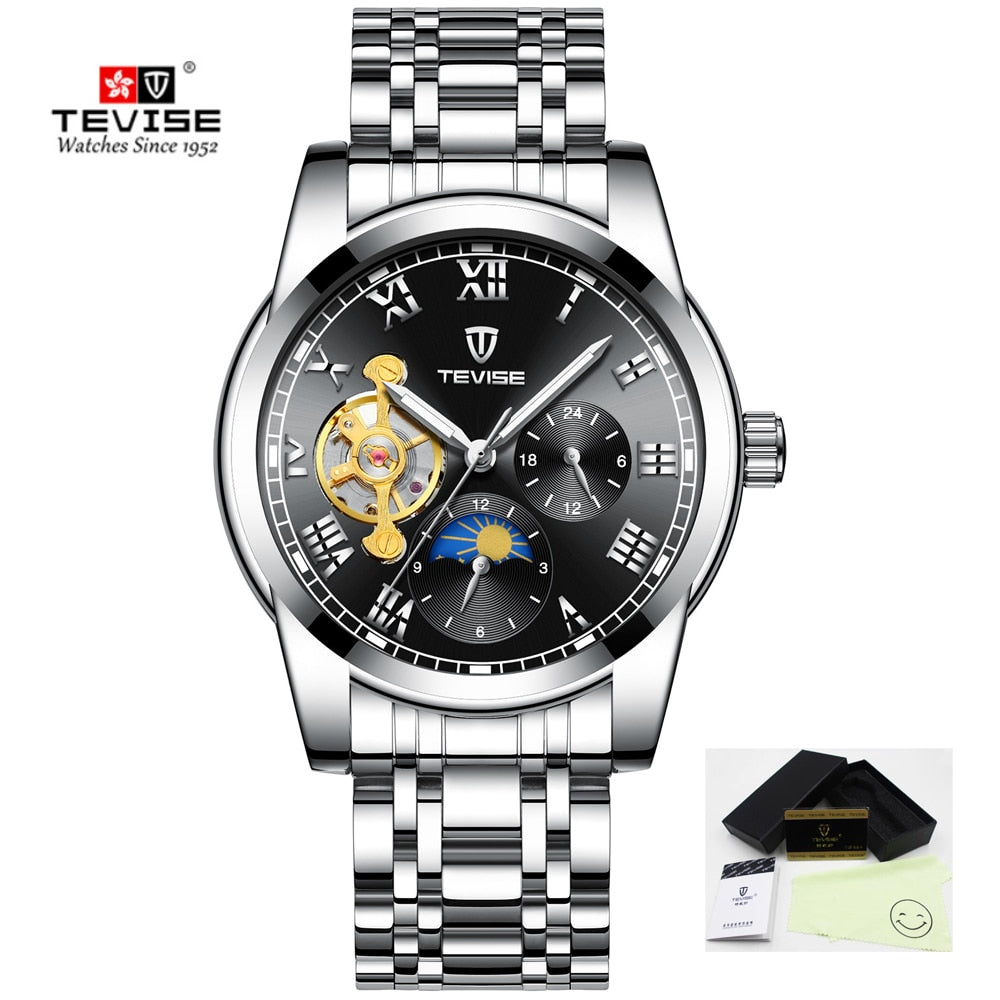 45f9d622bf7 2019 Tevise Men Watches Top Brand Skeleton Automatico Mechanical Watch –  Rimastock