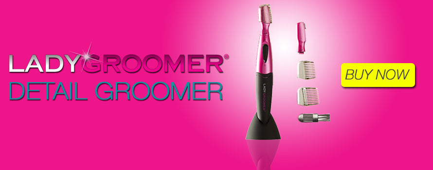 LADYGROOMER DETAIL GROOMER for Face, Eyebrows and Bikini Areas