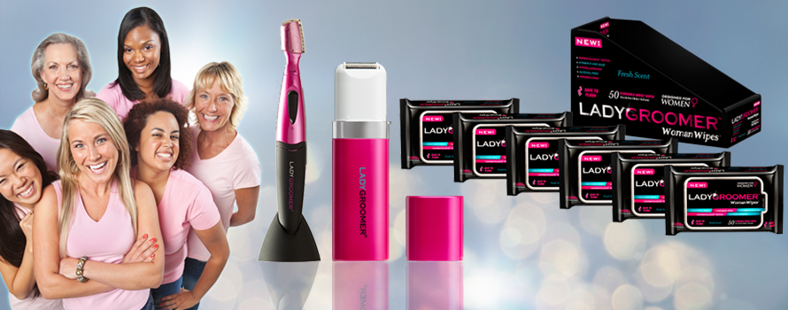 LADYGROOMER - the leader for female grooming products