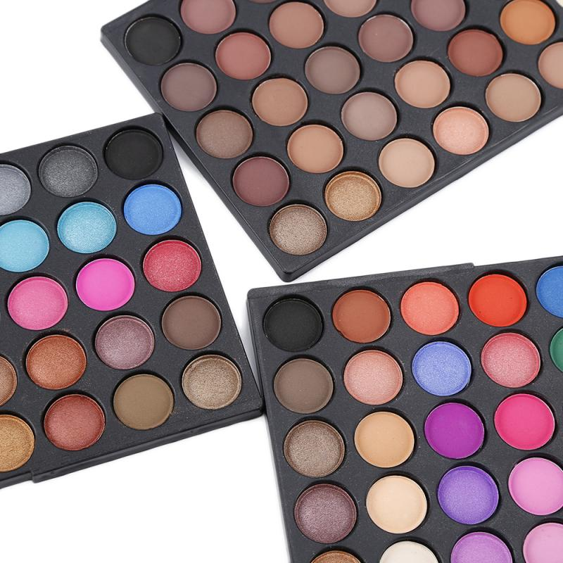 'Matte' 120 Colors Eye Make Up Palette Shimmer