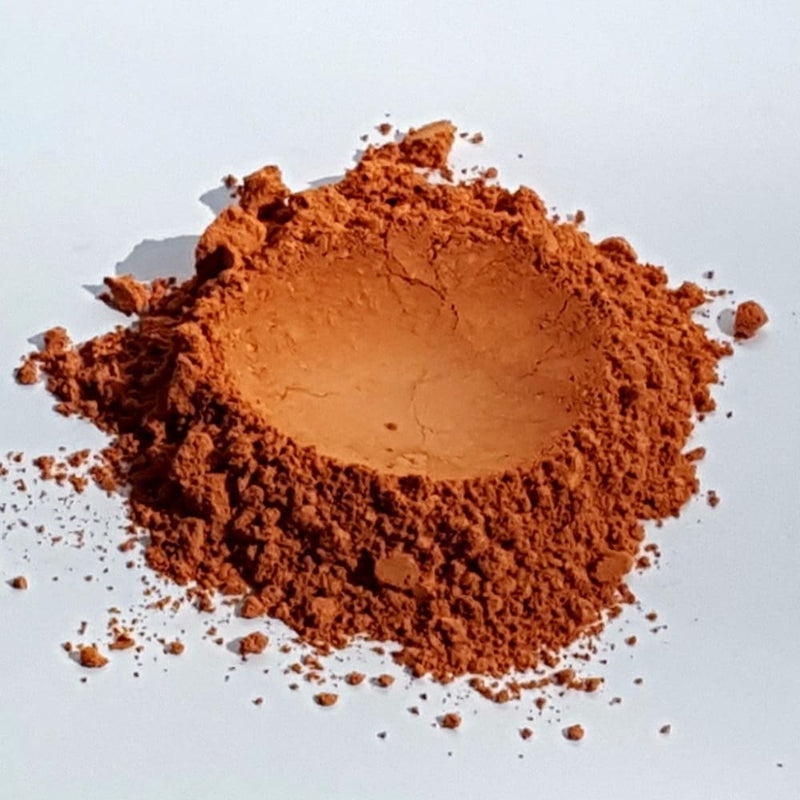 Beautiful Vegan Blush | Orange Golden Peach | Raw Beauty Minerals - Beauty - Womens - Cosmetics