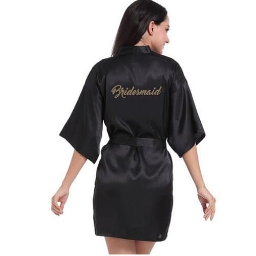 Fancy Bridal Party Robe