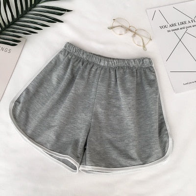 'Graceful' Casual Elastic Shorts