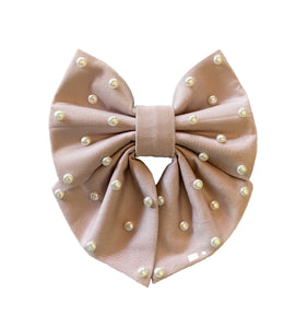 Annabelle - Sailor Bow with Pearls