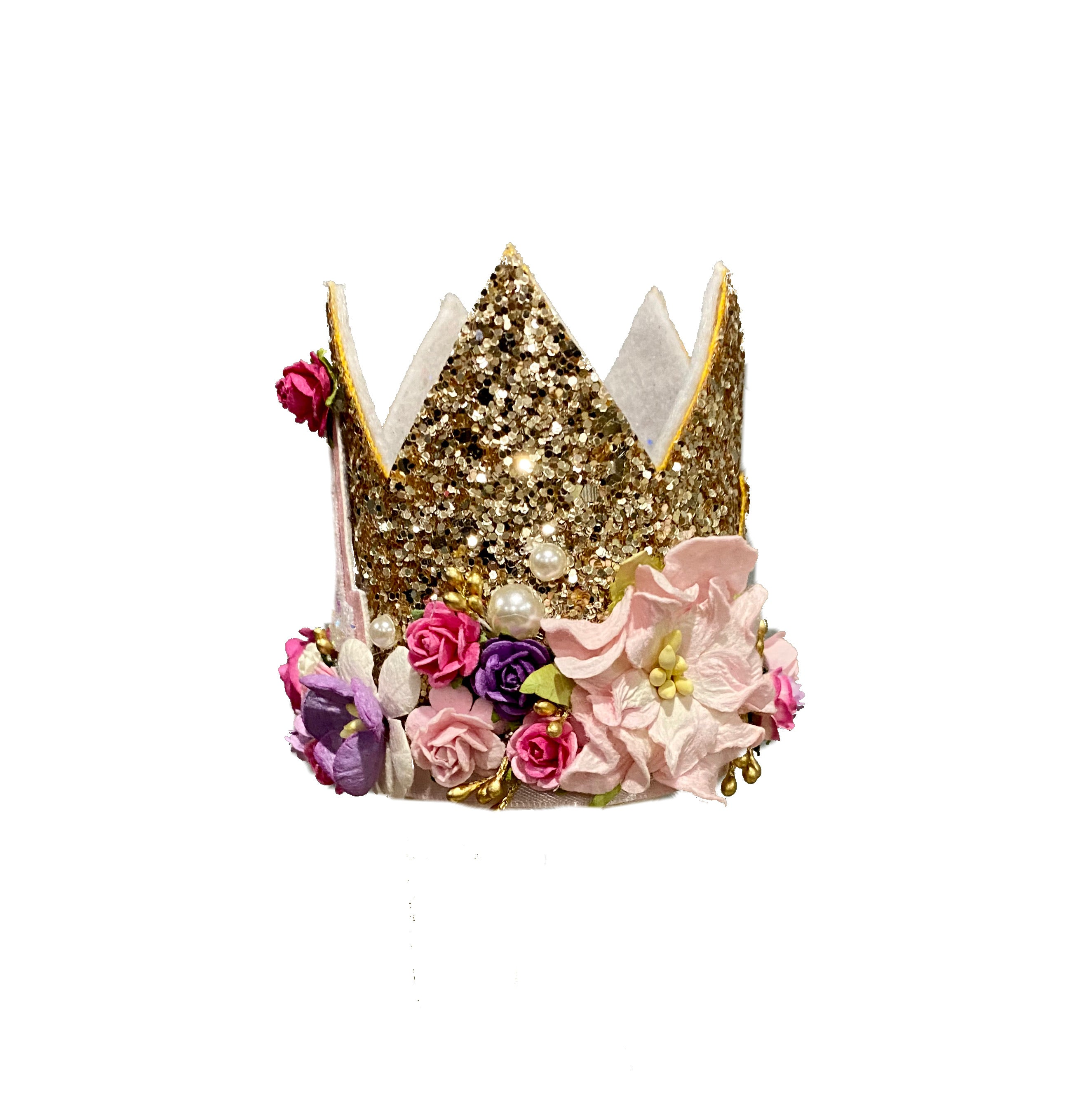 Floral Birthday Crown